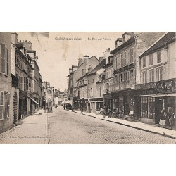 ABAO 21 - Côte-d'Or [21] Châtillon-sur-Seine - La Rue des Ponts