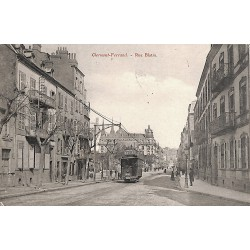 63 - Puy-de-Dôme [63] Clermont-Ferrand - Rue Blatin.