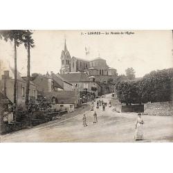 58 - Nièvre [58] Lormes - La Montée de l'Eglise.