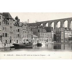 29 - Finistère [29] Morlaix - Maison du XVIe siècle sur le Quai de Tréguier.