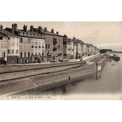 ABAO 71 - Saône-et-Loire [71] Mâcon - Le Quai du Nord.