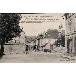 ABAO 89 - Yonne [89] Saint-Julien-du-Sault - La Grande Rue, Entrée en venant de la gare.