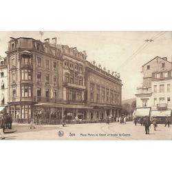 Liège Spa - Place Pierre le Grand et façade du Casino.
