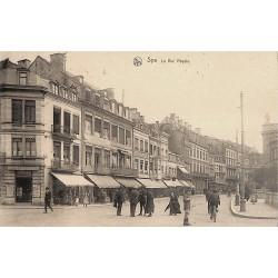 Liège Spa - La Rue Royale.