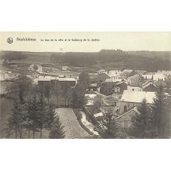 ABAO Luxembourg Neufchâteau - Le bas de la ville et le faubourg de la Justice.