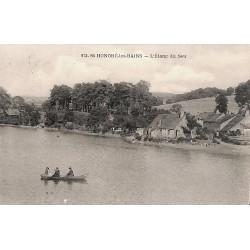 58 - Nièvre [58] Saint-Honoré-les-Bains - L'Etang du Seu.