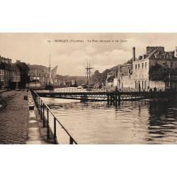 29 - Finistère [29] Morlaix - Le Pont tournant et les Quais.