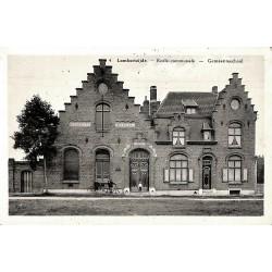 Flandre occidentale Middelkerke - Lombartsijde. Ecole Communale.
