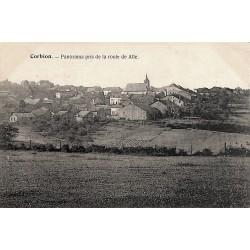 ABAO Luxembourg Bouillon - Corbion. Panorama pris de la route de Alle.