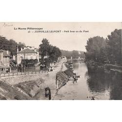 94 - Val-de-Marne [94] Joinville-le-Pont - Petit bras vu du Pont.