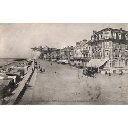 ABAO 80 - Somme [80] Mers-les-Bains - La promenade de la Plage.