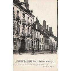 ABAO 89 - Yonne [89] Villeneuve-sur-Yonne - La Maison aux sept têtes.