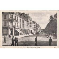 90 - Territoire de Belfort [90] Belfort - L'Avenue de la Gare.