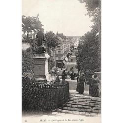 41 - Loir-et-Cher [41] Blois - Les Degrés et la Rue Denis-Papin.