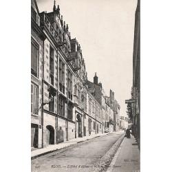 41 - Loir-et-Cher [41] Blois - L'Hôtel d'Alluye et la Rue Saint-Honoré.