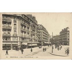 38 - Isère [38] Grenoble - Rue Félix-Poulat.