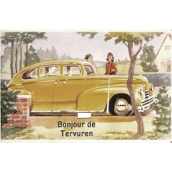 "Brabant flamand Tervueren - ""Bonjour de Tervuren"" carte pop-up."