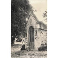Brabant flamand Tervueren - Chapelle au chemin creux.