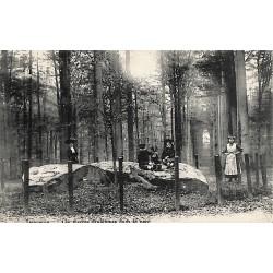 Brabant flamand Tervueren - Les pierres druidiques dans le parc.