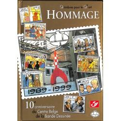 Bandes dessinées 9 timbres pour le 9e art. HOMMAGE. CBBD et La Poste. TL 2500 ex.