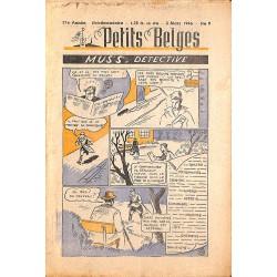 ABAO Bandes dessinées Petits Belges 27e année n°09 - 03/03/1946