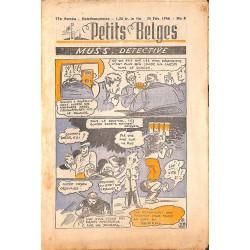 ABAO Bandes dessinées Petits Belges 27e année n°08 - 24/02/1946