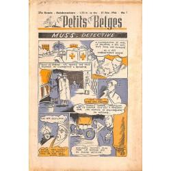 ABAO Bandes dessinées Petits Belges 27e année n°07 - 17/02/1946