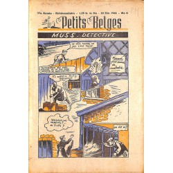 ABAO Bandes dessinées Petits Belges 27e année n°06 - 10/02/1946