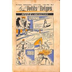 ABAO Bandes dessinées Petits Belges 27e année n°05 - 03/02/1946