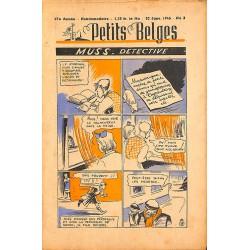 ABAO Bandes dessinées Petits Belges 27e année n°03 - 20/01/1946