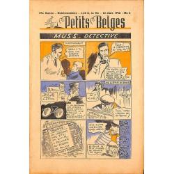 ABAO Bandes dessinées Petits Belges 27e année n°02 - 13/01/1946