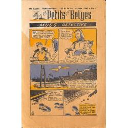 ABAO Bandes dessinées Petits Belges 27e année n°01 - 06/01/1946