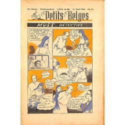 ABAO Bandes dessinées Petits Belges 27e année n°15 - 14/04/1946