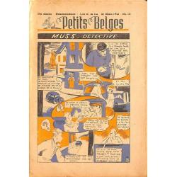 ABAO Bandes dessinées Petits Belges 27e année n°13 - 31/03/1946