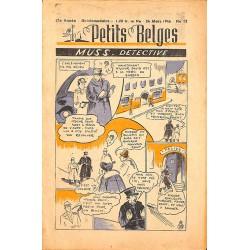 ABAO Bandes dessinées Petits Belges 27e année n°12 - 24/03/1946