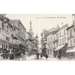 ABAO 16 - Charente [16] Angoulême - Rue Marengo.