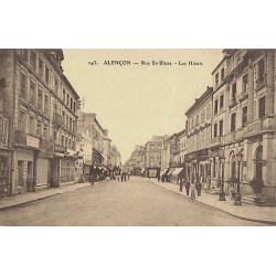 61 - Orne [61] Alençon - Rue St-Blaise. Les Hôtels.