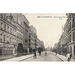 94 - Val-de-Marne [94] Saint-Maurice - Avenue de l'Asile.