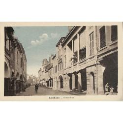 ABAO 71 - Saône-et-Loire [71] Louhans - Grande-Rue.
