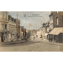 Hainaut Bonsecours - Grand'rue vers Peruwelz.