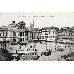 49 - Maine-et-Loire [49] Angers - La Place du Ralliement.