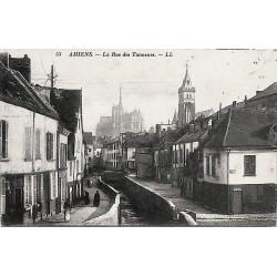 ABAO 80 - Somme [80] Amiens - La Rue des Tanneurs.