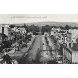 78 - Yvelines [78] Maisons-Laffitte - Panorama de l'avenue de Longueil.
