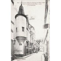ABAO 75 - Paris [75] Paris - Hôtel des Abbés de Fécamp. 5 rue Hautefeuille.