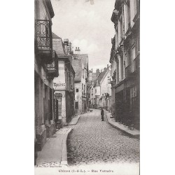 ABAO 37 - Indre-et-Loire [37] Chinon - Rue Voltaire.