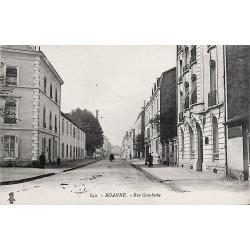 42 - Loire [42] Roanne - Rue Gambetta.