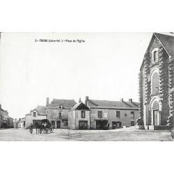 44 - Loire Atlantique [44] Trans-sur-Erdre - Place de l'Eglise.