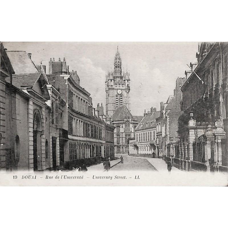 ABAO 59 - Nord [59] Douai - Rue de l'Université.