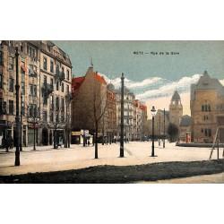 57 - Moselle [57] Metz - Rue de la Gare.