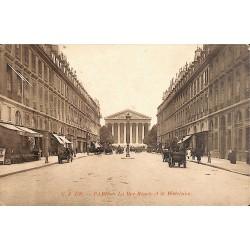 75 - Paris [75] Paris - La Rue Royale et la Madeleine.